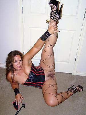 slutty full-grown women in stockings and heels