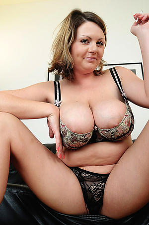 naughty mature in lingerie