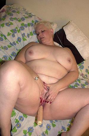 busty granny masturbation