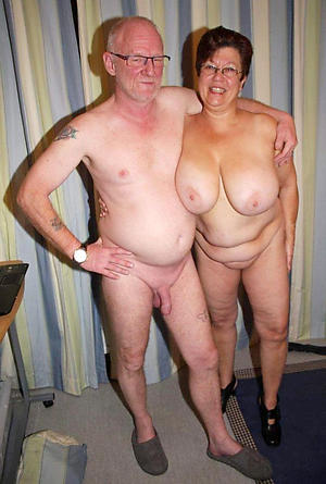 old mom posing nude