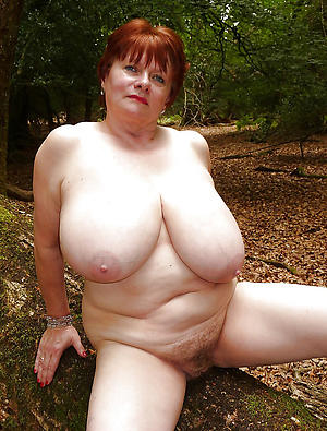 amateur old women surrounding big tits