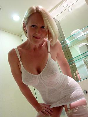 older blonde women love posing nude
