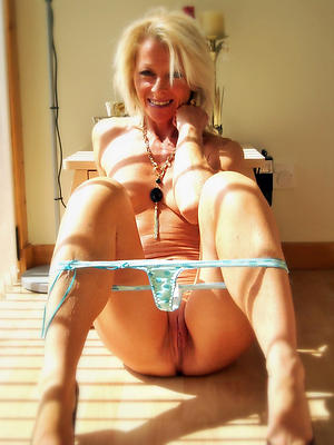 sexy older flaxen-haired women