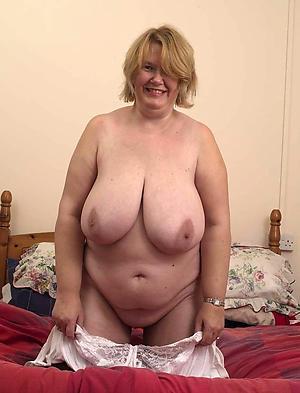 nice low-spirited chubby women