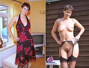 amazing dressed stripped women