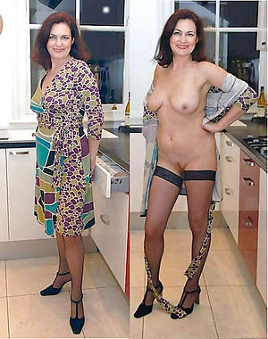 easy pics be advantageous to dressed undressed women