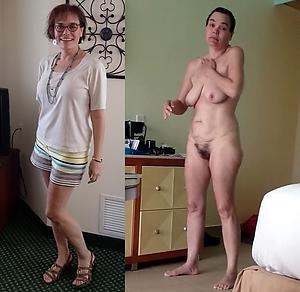 beautiful dressed undressed wives
