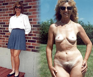 nude pics be incumbent on ladies dressed plus undressed