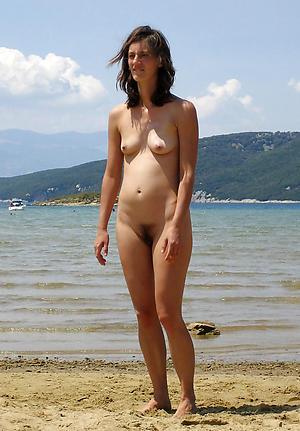 xxx granny on beach