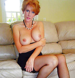 redhead hair granny with big tits homemade pics