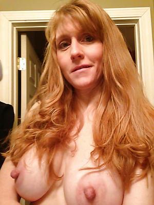 redhead hair granny with big Bristols porn pics