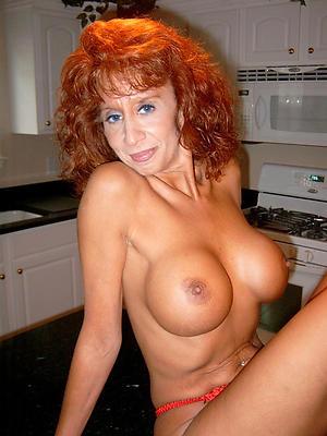 porn pics of redhead granny stripping