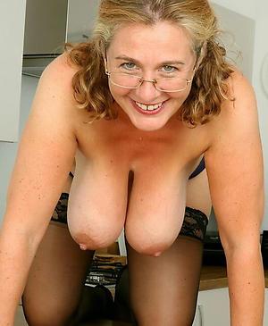 in the buff gradual full-grown saggy tits