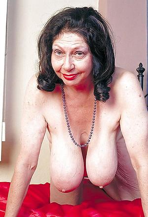 naughty mature saggy tits big nipples