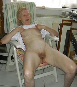 horny skinny granny pussy