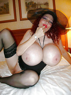 elderly women with massive tits posing nude