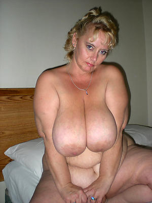 poor old body of men with massive tits