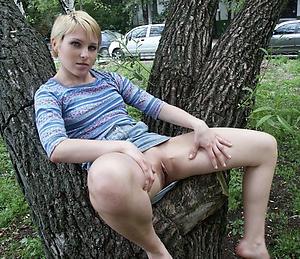 horny of age milf upskirt