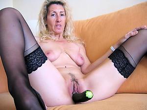 naughty old woman masturbating