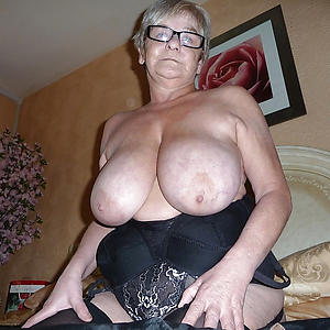 crazy old lady boobs