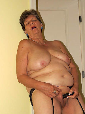 nude old lady boobs