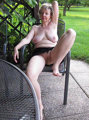 horny old ladies posing nude