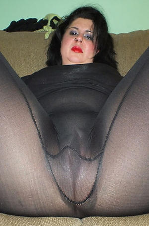 grannys in pantyhose posing nude