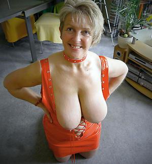 heavy granny chest private pics