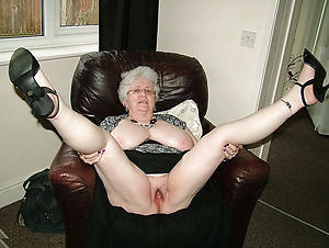 nude grannies in toffee-nosed heels porn pic