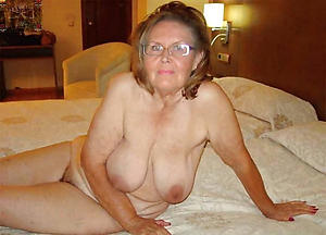 naked unfurnished grandmother