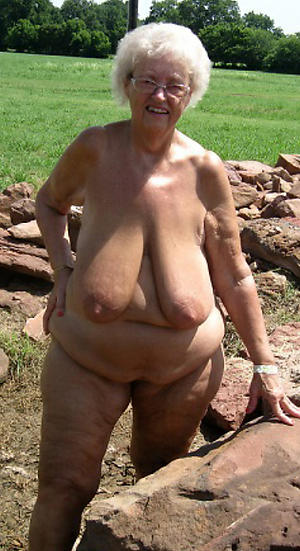 horny nude grandmother