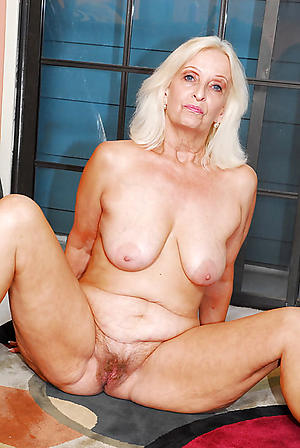 bared grandmother dote on porn