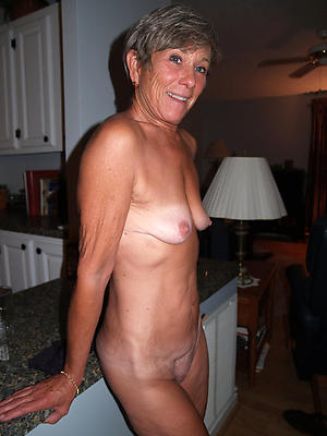 granny all round small tits posing nude