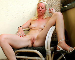 slutty shaved granny cunt porn pic