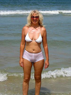 free pics of older women on get under one's beach