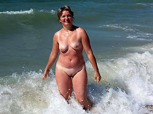 horny older women on the beach nude pics