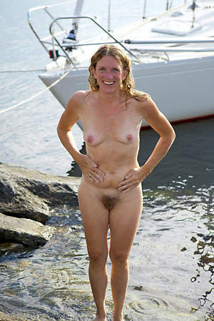 slutty granny on the beach nude pics