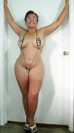 unorthodox older battalion in bikinis porn pics