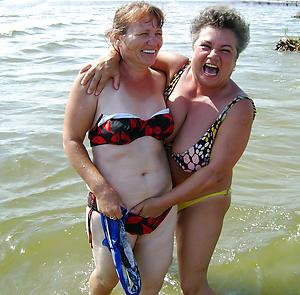 sultry doyenne women in bikinis porn pic