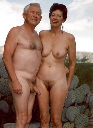 slutty nude older couples