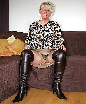 upskirt older women