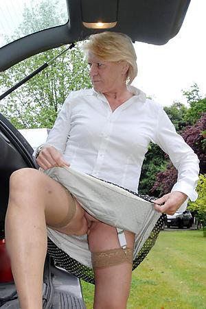 naked older women upskirt pic