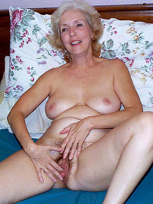 nude muted older woman photo