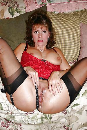 horny older body of men in stockings