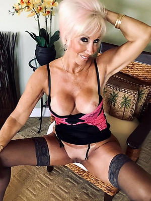 aged grannies in lingerie posing nude