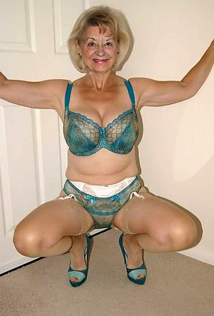 beauties old women in underwear porn pic