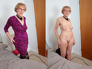 old women dressed undressed free pics
