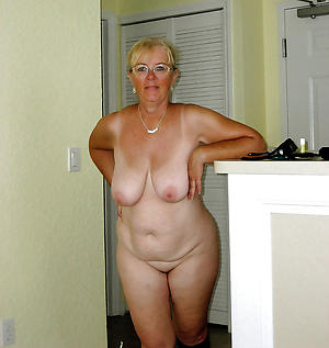 in the buff chubby old women pics