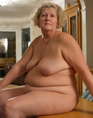 horny chubby old women