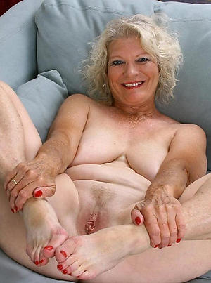 titillating mature granny feet